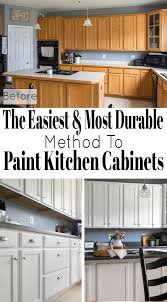 what is the most durable paint for kitchen cabinets how to paint cabinets with a sprayer craving some creativity