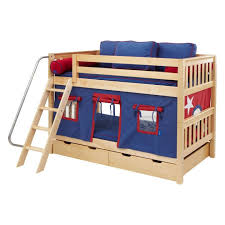 bunk beds stairway bunk beds twin over twin bunk bed with