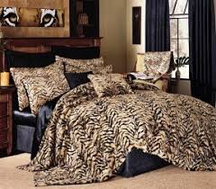 Tiger Comforter Set Best 50 Animal Print Bedding Set Foter