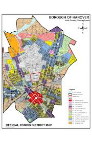 New York Borough Map by Zoning