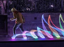 light kicks led shoe light system thinkgeek