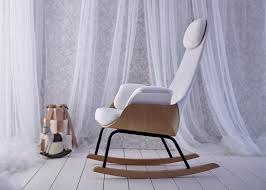 Alegre Design Puts New Spin On Traditional Breastfeeding Chair - Design rocking chair