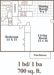 River City Phase 1 Floor Plans by English Village Apartments The Wooten Company