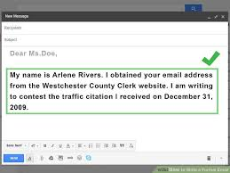 Sample Email To Send Resume For Job by 4 Ways To Write A Formal Email Wikihow