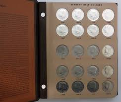 photo album sets 1964 2015 p and d kennedy half dollar set in dansco album