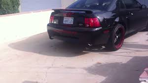 2000 Ford Mustang Black Ford Mustang Gt 2001 Youtube