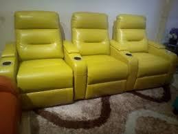3 Recliner Sofa Living Room Sofa Recliner Sofa Genuine Leather Recliner Sofa