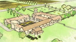 Ancient Roman Villa Floor Plan by In Photos Well Preserved Roman Villa Found Beneath Uk Home