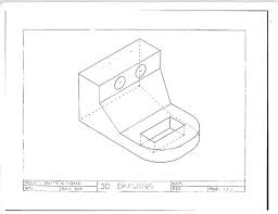 technical drawing in three dimensions 10 steps