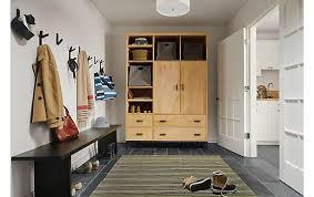 Furniture For Entryway Linear Custom Cabinet Entryway Storage Modern Custom Furniture