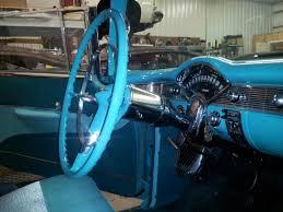 1956 nomad steering column installed doug jenkins garage