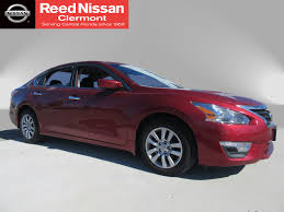 red nissan altima used certified one owner 2015 nissan altima 2 5 s clermont fl