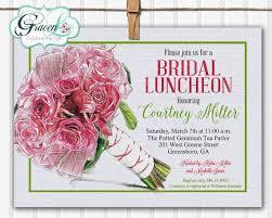 bridesmaids brunch invitations best 25 bridal luncheon invitations ideas on
