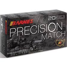 Barnes Xpb Barnes Precision Match 5 56 Nato Ammo 85 Grain Otm