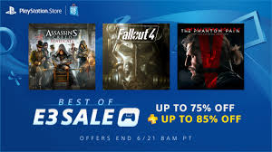 Past Sales The Key Agents Best Of E3 Sale Up To 75 Off Past Show Favorites U2013 Playstation Blog