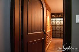 Home Wine Cellar Design Uk by Custom Wine Cellar Doors Genuwine Cellars