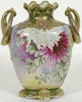 Nippon Hand Painted Vase Spring Select Auction