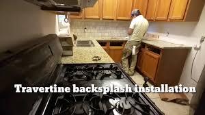 travertine backsplash installation you need a bobby handyman