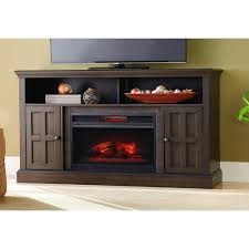 brown collection home decorators collection elmhurst 60 in media console infrared