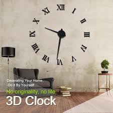 Wholesale Home Decore by Wholesale Modern Design Diy 3d Big Wall Clock Home Decor Quartz