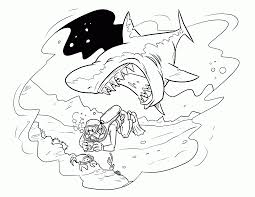 shark coloring pages to print interesting download shark coloring
