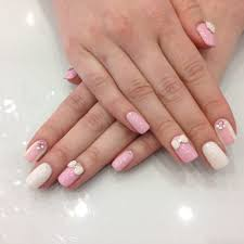 hard gel nails with 3d nail design by sue yelp