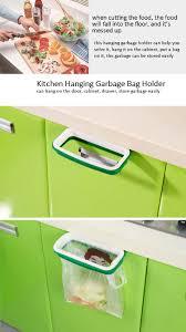 honana plastic hanging garbage rubbish bag holder kitchen cupboard