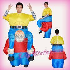 Piggyback Halloween Costume Chub Small Dwarf Piggyback Inflatable Clothing Blow Color