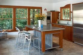 stainless steel kitchen work table island with stainless steel