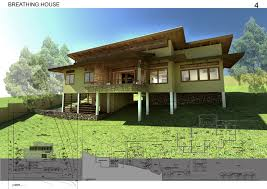 Tri Level Floor Plans Architecture Sustainable Modern Downtown Tropical House Design
