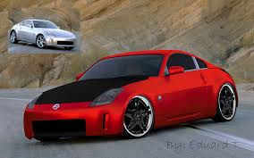red nissan 350z modified nissan wallpapers hd wallpapers pulse
