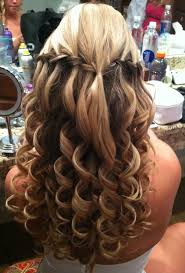 best 20 waterfall braid with curls ideas on pinterest waterfall