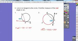 geometry review for test on chapter 10 on circles youtube