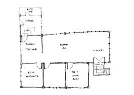 jom balik kampung chapter 1 the kampung life rough sketch of the floor plan of the malay house