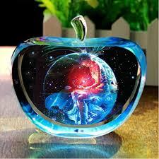 aliexpress buy clear glass apple model