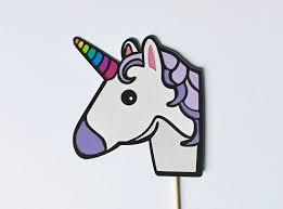 gardening emoji unicorn emoji photo booth prop emoticon party props