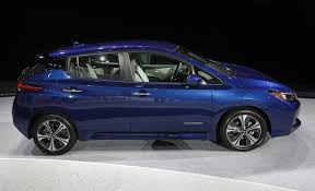 nissan leaf zero emission nissan shows leaf electric car revamped with more range houston tx