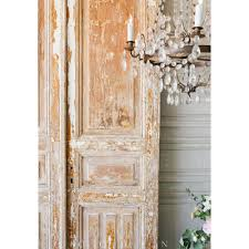 French Country Wallpaper by French Country Style Eloquence Pair Of Vintage Doors 1940
