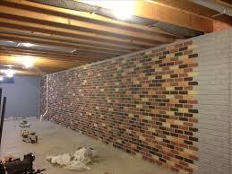 Finishing Basement Walls Ideas Endearing Ideas For Finishing Concrete Basement Walls With Ideas