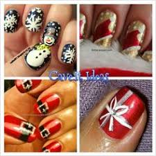 wintery snowflake holiday nail art so cute http www