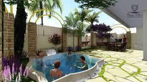 new roman garden design youtube