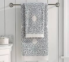 Stein Mart Bathroom Accessories by Pretty Green And Blue Decorative Towel Set With 3 Different Sizes