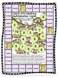free multiplication games for multiplication facts