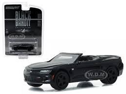white chevy camaro convertible chevrolet camaro convertible black bandit 1 64 diecast model car