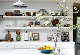 open shelving 10 gorgeous takes on open shelving in kitchens