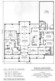 single story house plans no dining room home pattern