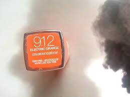 Shade Of Orange Names Maybelline Electric Orange Lipstick Lotte U0027s Beauty Box