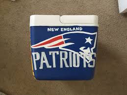 Georgia Flag Chubbies New England Patriots Painted Cooler Crazy Cooler Lady