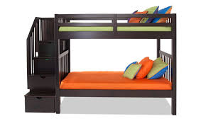 Bunk Beds Keystone Stairway Bunk Bed Bob S Discount Furniture