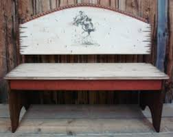 western bench etsy